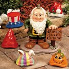 Gnome Greeter with Hats Garden Yard Decor
