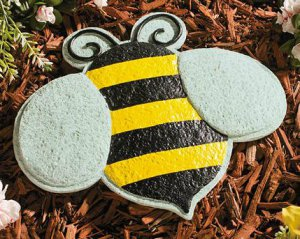 Bee Garden Stepping Stone