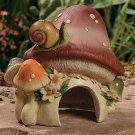 Frog House Garden Yard Decor