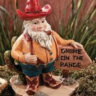 Cowboy Western Gnome Garden Yard Decor