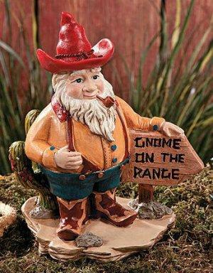western gnome garden yard decor, Garden idea