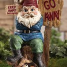 Keep Away From My Nuts! Gnome Garden Yard Decor