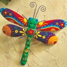 Colorful Dragonfly Wall Decoration