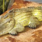 Solar Alligator Garden Yard Decor