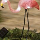 Solar Flamingo Garden Yard Decor