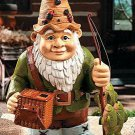 Fishing Gnome Garden Yard Decor