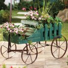Green Welcome Wagon Planter
