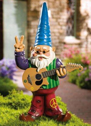 Hippy Gnome Garden Yard Decor