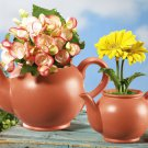 Whimsical Ceramic Teapots Garden Planters