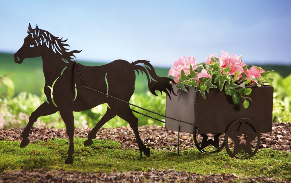 Horse Drawn Carriage Stock Photos Images, Royalty Free ... |Metal Horse And Buggy Silhouette