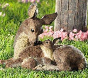 Deer Family Garden Yard Decor