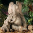 Elephant Family Garden Yard Decor