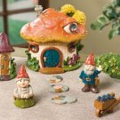 Gnome Village Yard Garden Decor