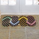 Flip-Flop Coir Doormat Mat