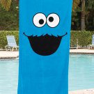 Sesame Street Cookie Monster Beach Towel
