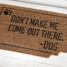Dog Bite Front Door Coco Mat
