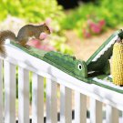 Crocodile Shaped Squirrel Feeder