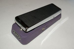 Budda Budwah Bud-Wah Pedal  BLACK LABEL SILVER BOTTOM