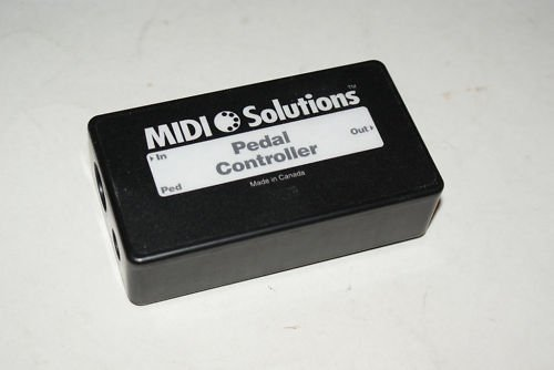 Midi Solutions Pedal Controller Box PED