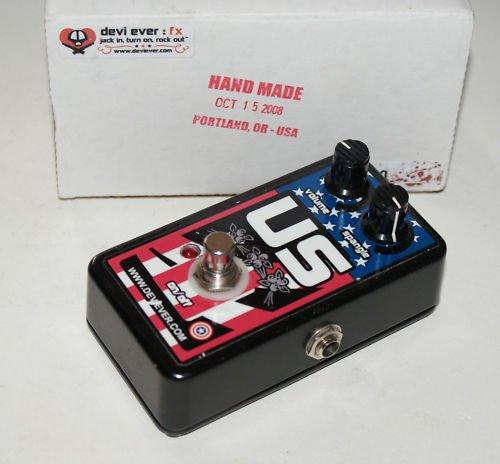 Devi Ever US Fuzz Guitar Effect Pedal HAND MADE