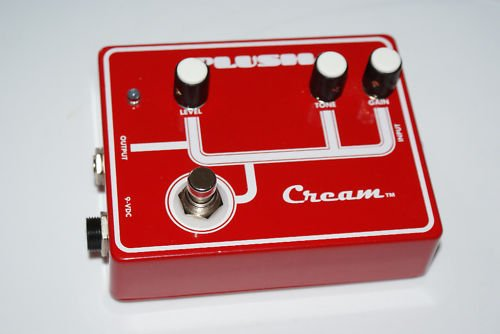 Fuchs Plush FX Pedals Cream Overdrive Distortion MINT