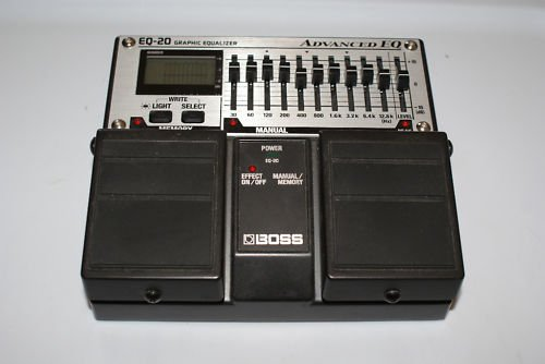 Boss EQ-20 Graphic Equalizer Programmable Advance EQ
