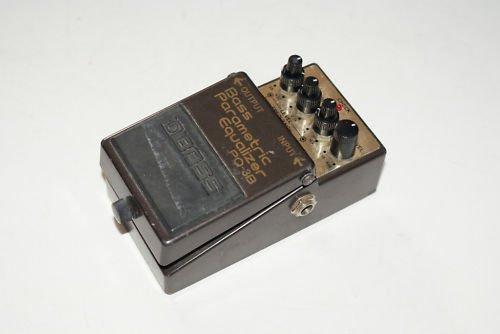 Boss PQ-3B Parametric Equalizer Bass Effect Pedal 1991