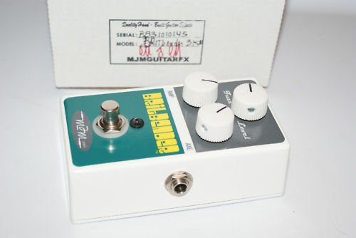 MJM Mjmguitarfx Brit Bender 3 Knob Fuzz Effect