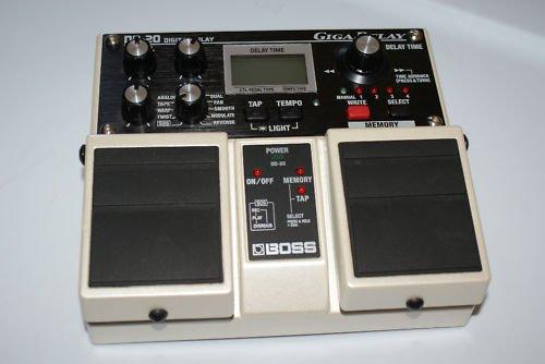 Boss DD-20 Digital Guitar Effect Pedal Giga Delay