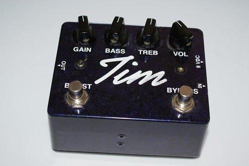 Paul Cochrane Tim Overdrive Guitar Effect Pedal V1