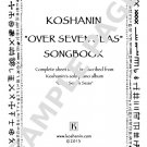 """Over Seven Seas SONGBOOK"" - Sheet Music for Koshanin's solo piano album [PDF Edition]"
