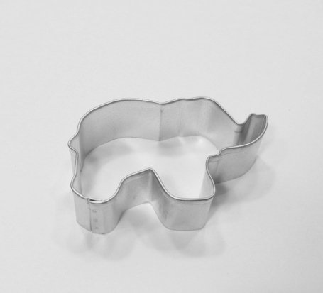 Elephant  Cookie Cutter 3 Inch