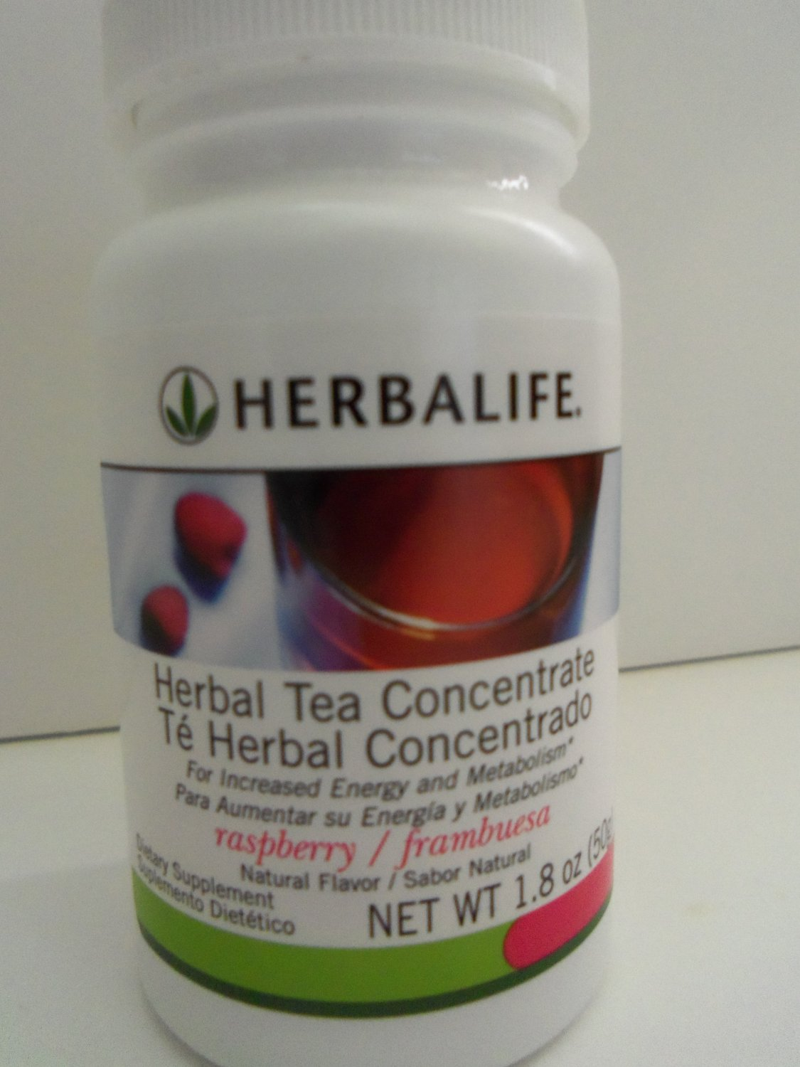 Herbalife Herbal Tea Concentrate (Rasberry) 1.8 oz