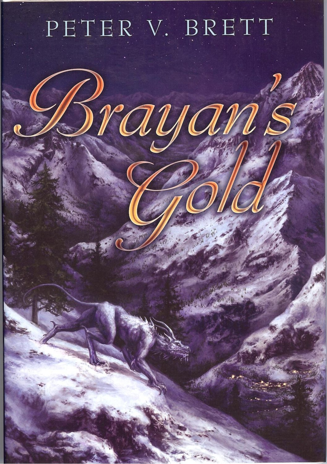 Brayan's Gold By Peter V. Brett (Leather bound Limited Edition)