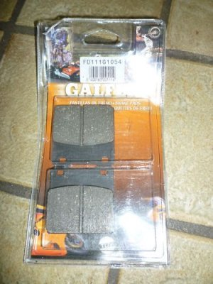 Galfer FD111G1054 Brake Pads - New in Package!