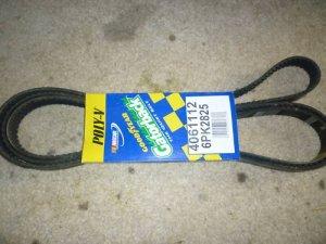 Serpentine Belt - Goodyear Poly-V Gatorback - 4061112