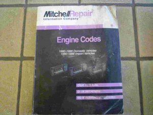 1990-1999 Mitchell Engine Codes Manual
