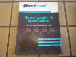 1998-1999 Mitchell Sensor Location and Specifications