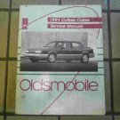 1991 Oldsmobile Cutlass Calais Official Factory Service Manual
