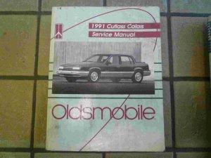 1991 Oldsmobile Cutlass Calais Official Factory Service Manual