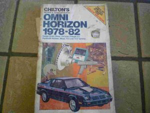 1978-1982 Chilton's Omni Horizon Shop Manual