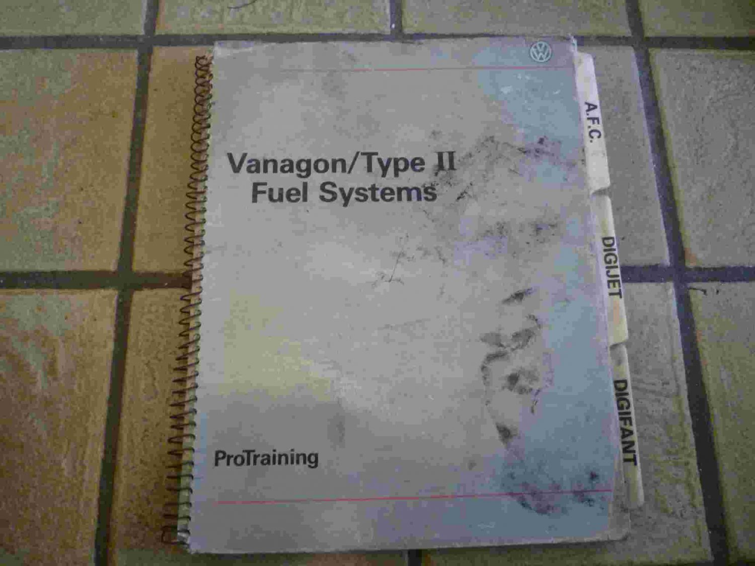 Volkswagen Vanagon / Type II Fuel Systems Manual