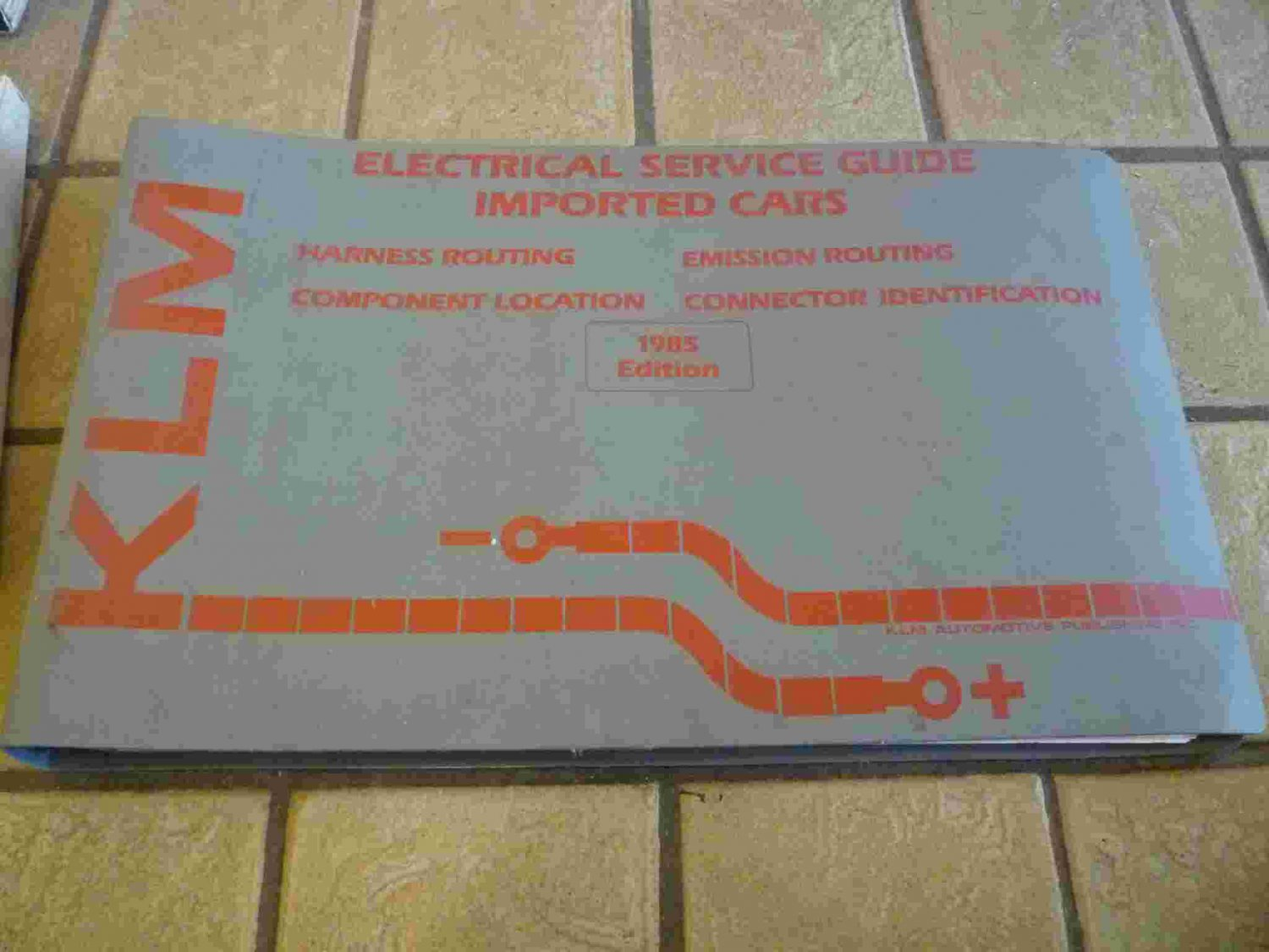 1985 KLM Electrical Service Guide Imported Cars Manual