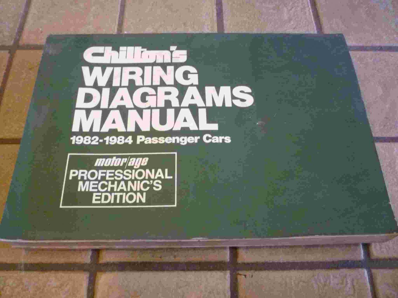 1982-1984 Chilton's Wiring Diagrams Manual