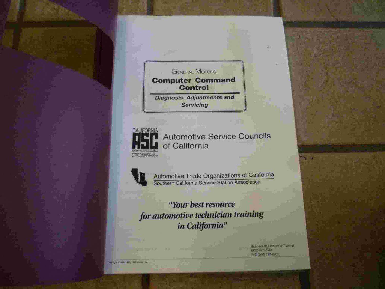 1987-1993 General Motors Computer Command Control Training Manual