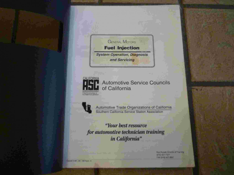 1987-1993 General Motors Fuel Injection Training Manual