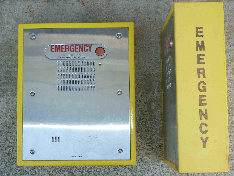 Talk-A-Phone ETP-400V Emergency Call Box Phone in ETP-SM box