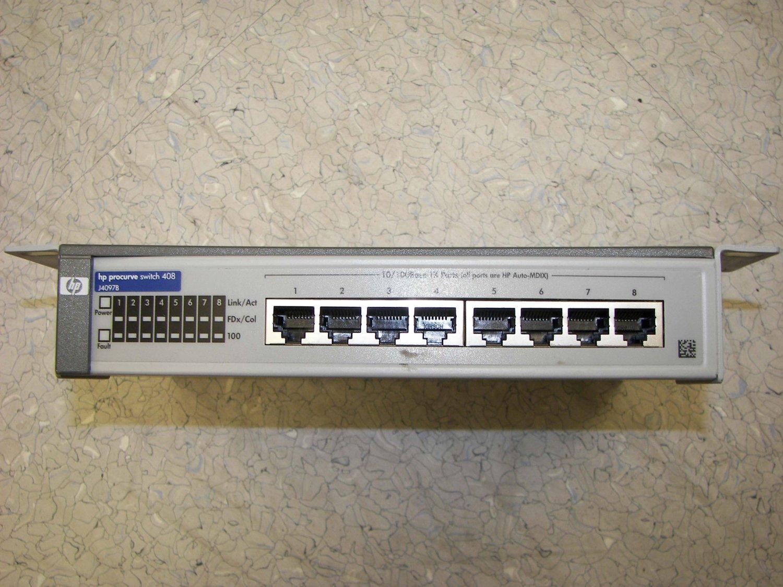HP Procurve 8-port Switch 408