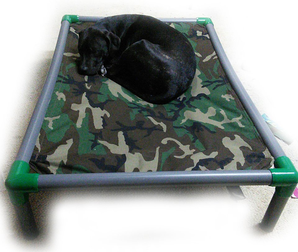LARGE Custom Made PVC Wraparound Dog Bed
