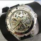 Handmade Unisex Steampunk Mechanical watch with a lovely skeleton pattern WORLDWIDE FREE SHIPPING
